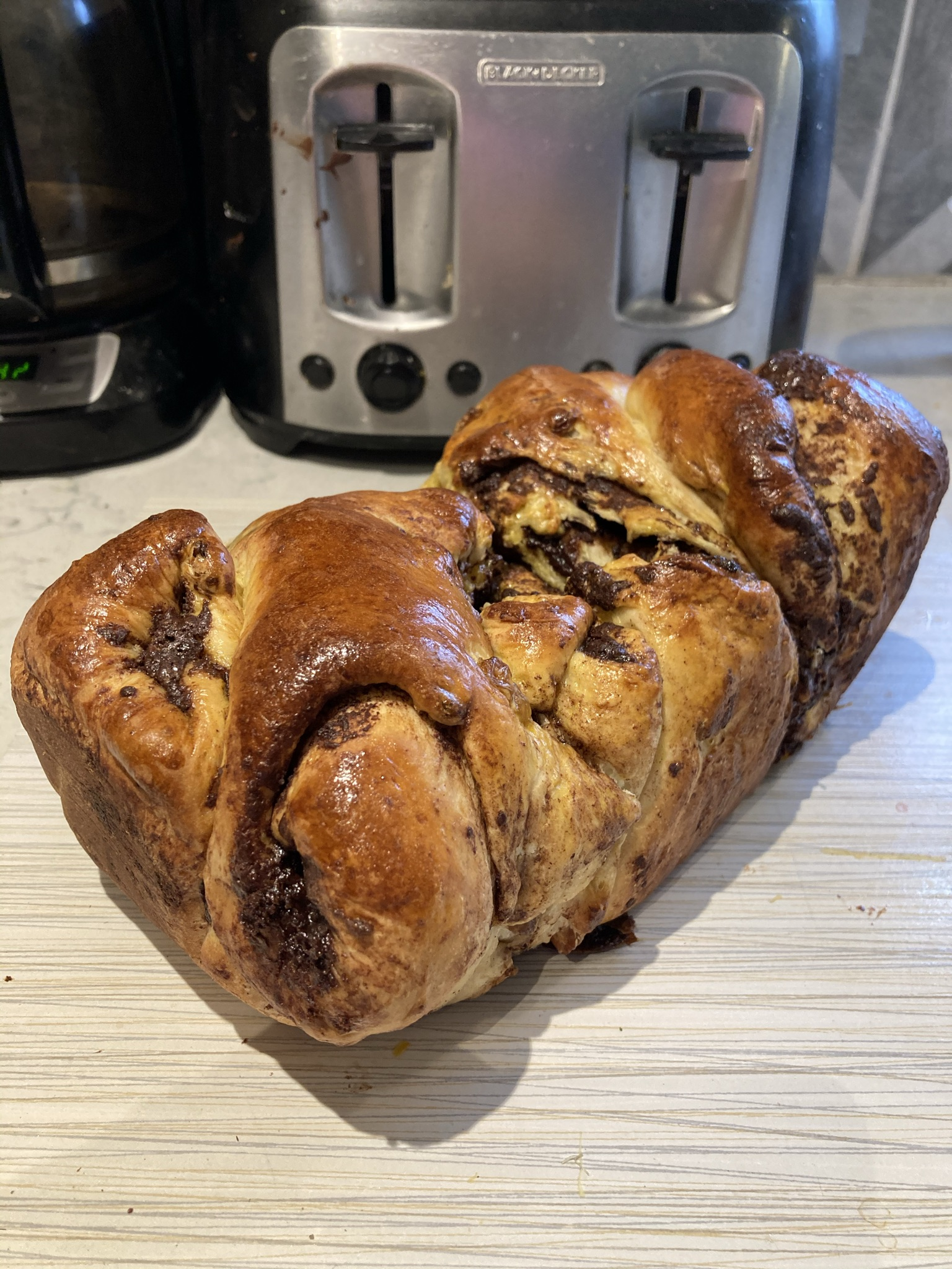Delicious raisin bread